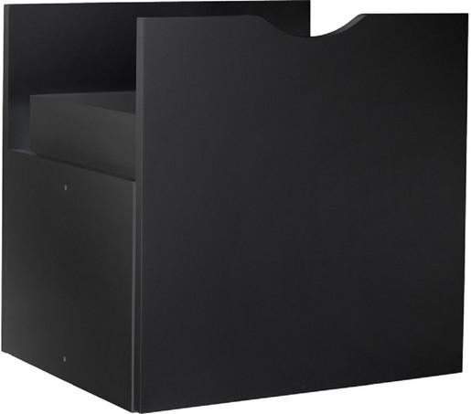 Regal Einschub KNOX in schwarz 1 Stück