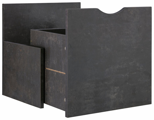 Schubkasteneinsatz KNOX in beton