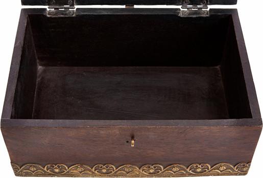 Truhe VITA aus Massivholz im Antik-Design