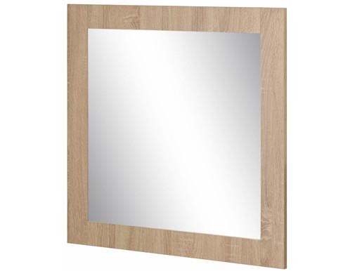 Wandspiegel DIDO 70x70 cm aus Holzwerkstoff in eichefarben