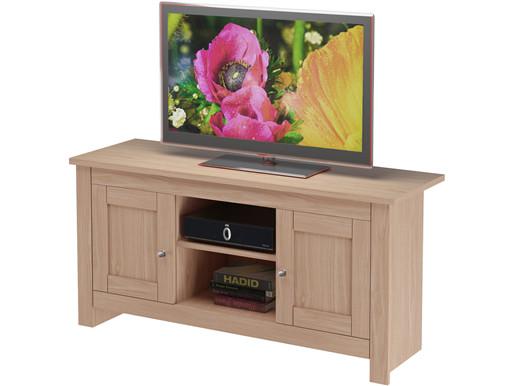 2-trg. TV-Lowboard EMILY im Landhausstil in eichefarben