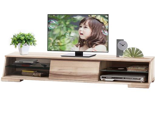 TV Lowboard AMY aus Kernbuche gewachst mit einer Schublade