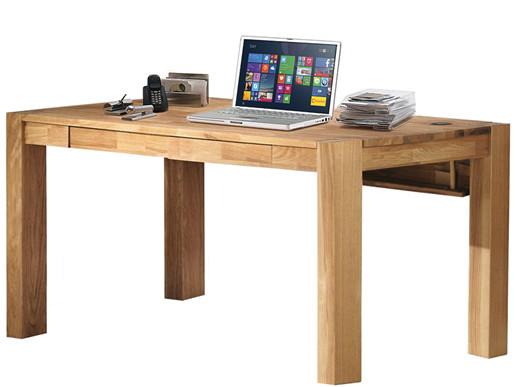 Schreibtisch GIORGIA aus Eiche massiv mit Schubladen