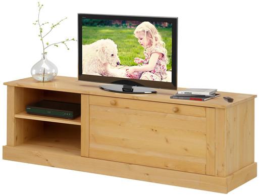 TV-Lowboard CITO aus Kiefer massiv in gebeizt geölt