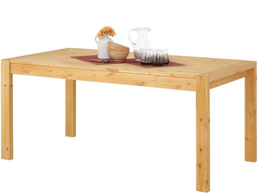 Esstisch ELKA aus Kiefer Massivholz in gebeizt geölt, 180 cm