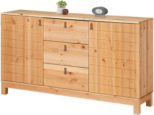 2-trg. Sideboard ELKA aus Kiefer Massivholz, gebeizt geölt