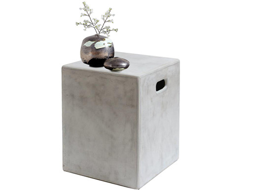 Beistelltisch SOHO aus Beton in quadratischer Form