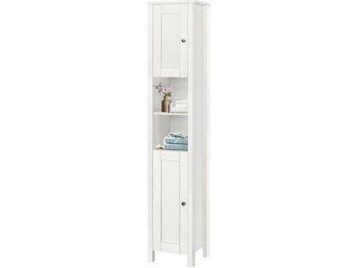 Hochschrank JANE 2 Türen aus Holz in weiß