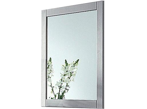 Spiegel NEPTUNE aus Kiefer massiv in grau