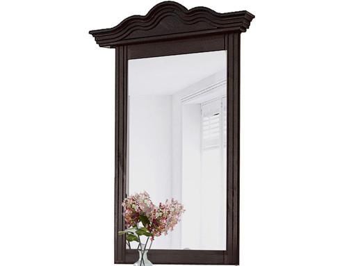 Spiegel FOTINA 60x85 cm aus Kiefer massiv in havana lackiert