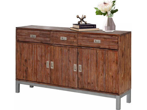 Sideboard KELLY aus Akazienholz in braun