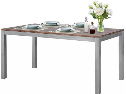 Tisch KELLY 200x90 cm aus Akazienholz in braun