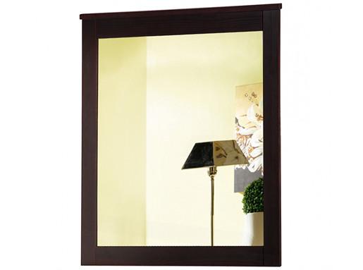 Spiegel BEVERLY aus Kiefer massiv in havanna lackiert