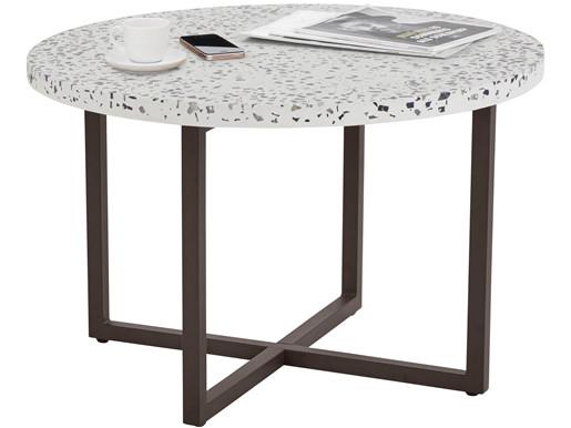 Beistelltisch SADHU mit Terrazzo-Tischplatte