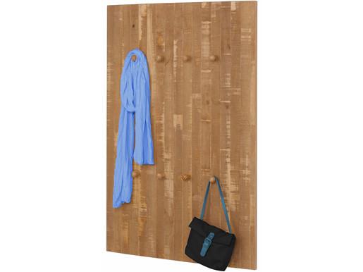 Garderobenpaneel RAINE 75 cm Breite in natur