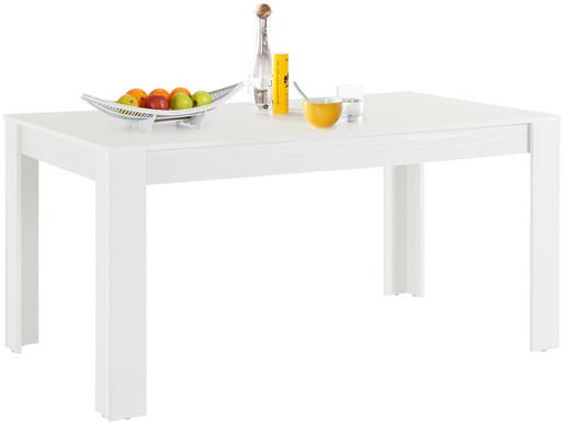 Esstisch LYON in weiß aus Holzwerkstoff, Breite 160 cm