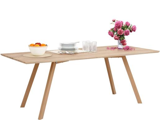 Moderner Esstisch ADRIAN aus Holzwerkstoff, Breite 200 cm