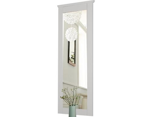 Spiegel ABBY 50x130 cm aus Kiefer massiv in weiß