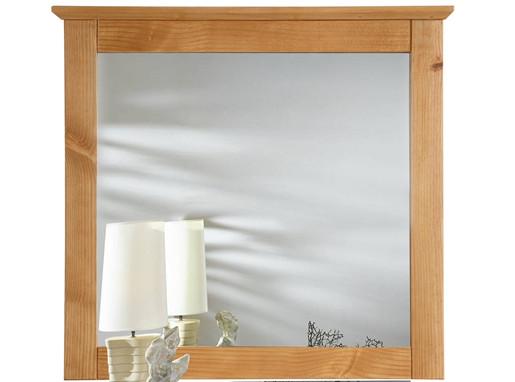 Spiegel GAIL aus Kiefer massiv in gebeizt geölt Landhausstil