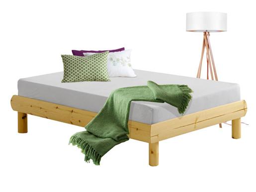 Bett OCTAVE 90x190cm aus Kiefer massiv lackiert