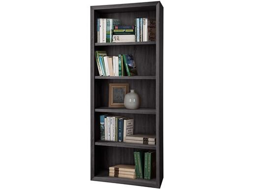 Bücherregal BILD Breite 80 cm in schwarz