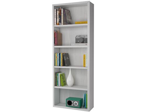 Bücherregal BILD Breite 80 cm in weiß lasiert