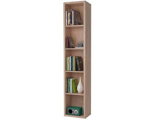 Bücherregal BILD mit 5 Fächern in weiß
