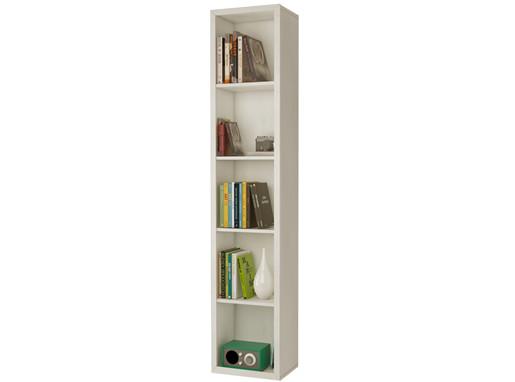 Bücherregal BILD Breite 44 cm in weiß lasiert