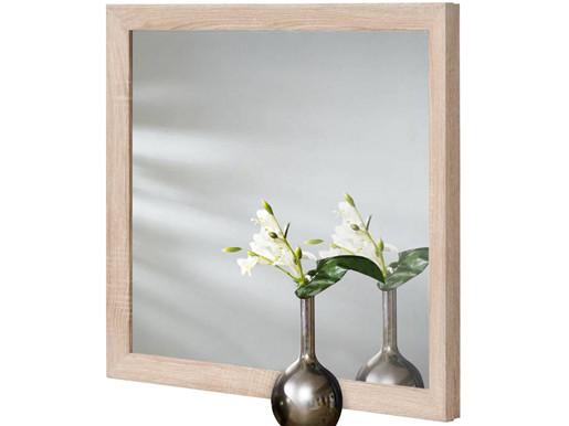 Spiegel JAMY 70 x 60 cm aus FSC Holz in Sonoma Eiche