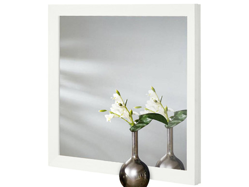 Spiegel JAMY 70 x 60 cm aus FSC Holz in weiß