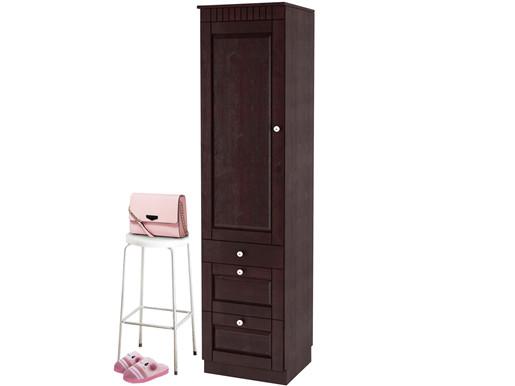 hochschrank cheryl aus kiefer massiv in havana lackiert. Black Bedroom Furniture Sets. Home Design Ideas