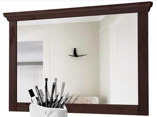 Spiegel VENEDIG 110 x 70cm aus Kiefer massiv in havanna