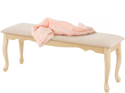Sitzbank AGATHE mit geschwungenen Beinen, 90 cm breit