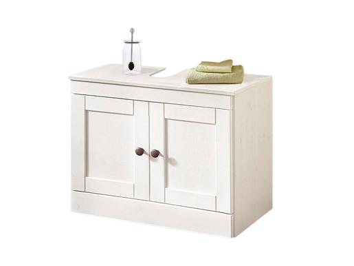 Waschbeckenunterschrank MINNA in weiß lackiert
