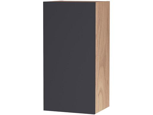 1-trg. Hängeschrank LINUS in grau/Albany, 30x25x60 cm