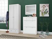 Spiegel JAMY 70 x 60 cm aus FSC® Holz in weiß