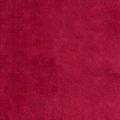 Gepolsterter Stuhl HUBERT mit Keder, Samtbezug in rot