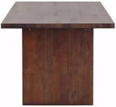 Esstisch MAINZ 200 cm aus Akazienholz in braun