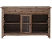 Sideboard MADELAINE aus Akazienholz im Landhausstil