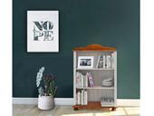 Bücherregal Landhausstil ANNETTE klein Kiefer in weiß honig
