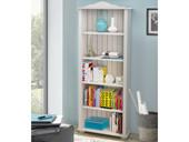 Bücherregal JASMIN 180 cm aus Kiefer massiv in weiß