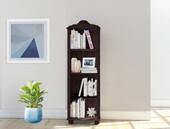 Bücherregal ANNETTE aus Kiefer Massivholz in havana, 130 cm