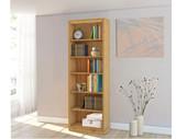Bücherregal ANGEL aus Kiefer massiv in gebeizt geölt, 223 cm