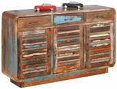 Sideboard RAGUN aus Recyclingholz im Shabby Chic Design