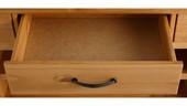 Sideboard MISCHA 160 cm aus Kiefer massiv in gebeizt geölt