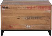 Bank SATURN Breite 80 cm Kiefer massiv braun gewischt