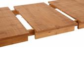 Esstisch ALTONA aus Massivholz in gebeizt geölt, 150 cm