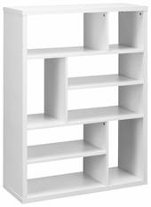Regal MARIO 120 x 90 cm aus MDF in weiß
