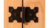 Schrank MIGUEL mit 2 Türen aus Kiefer in hell gebeizt