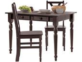 2er Set Stühle NOIR aus Massivholz in havana